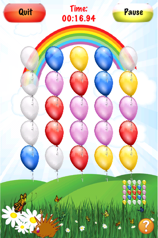 Screenshot Crazy Balloons Lite
