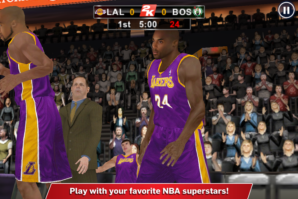 Screenshot NBA 2K12 for iPhone